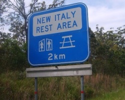 New Italy, nel Queensland, nord est australiano