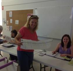 Il primo voto australiano di Francesca, nel settembre scorso