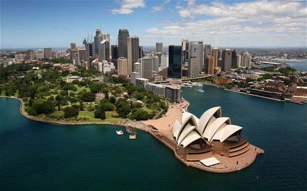 La splendida vista su Sydney, una delle città con più Italians d'Australia