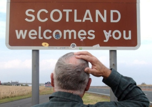 scotland welcomes you